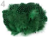 Slepačie perie dĺžka  8 -13 cm