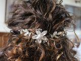 Štrasová ozdoba do vlasov