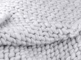 Pletená deka / pléd z extra pevnej priadze