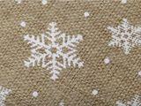 Imitácia juty šírka 48 cm vianočná