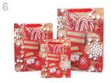 Darčeková taška vianočná, sada 3 veľkostí