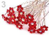 Štrasová vlásenka kvet Ø6 mm