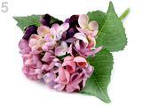 Umelá hortenzia na aranžovanie