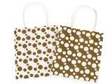 Darčeková taška metalická, malá veľkosť, sada 2 ks