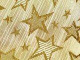 Darčekové vianočné vrecúško s lurexom hviezdy 20x30 cm