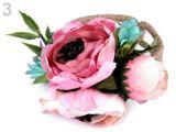 Náramok s kvetmi