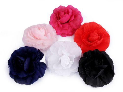 Brošňa / ozdoba ruža Ø10 cm