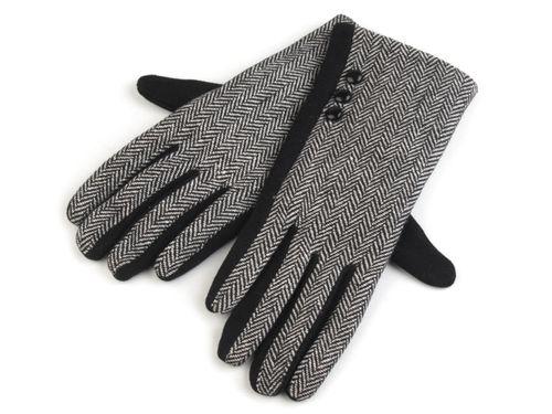 Dámske úpletové rukavice