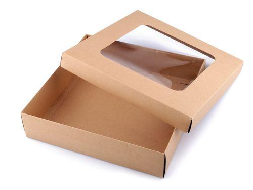 Darčeková krabica s priehľadom