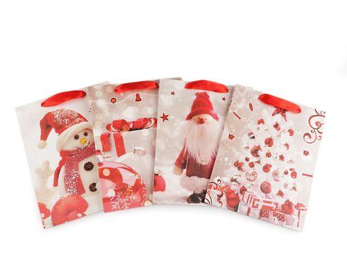 Darčeková taška vianočná, malá veľkosť