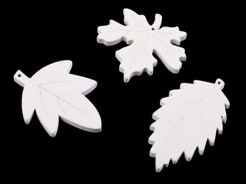 Drevené listy na zavesenie / nalepenie