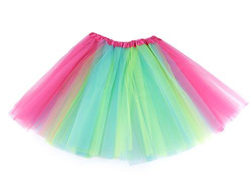 Karnevalová sukienka dúhová