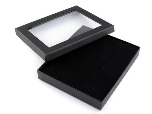 Krabička  s priehladom  polstrovaná 3x16x19 cm