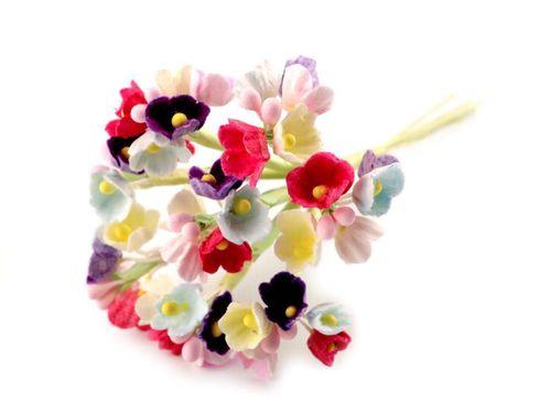 Kvet na drôtiku / polotovar na výväzky Ø25 mm