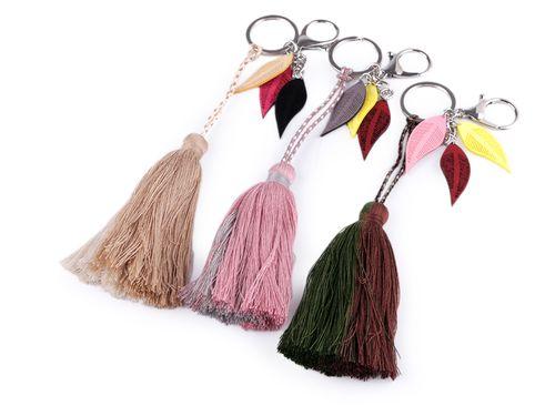 Prívesok na kabelku / kľúče strapec
