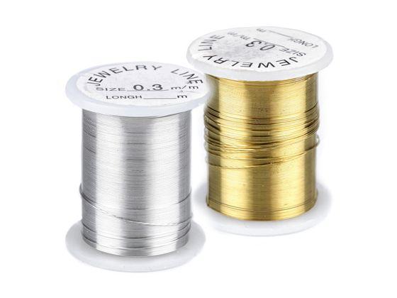 Dekoračný drôtik  Ø 0,3 mm, návin 10 m