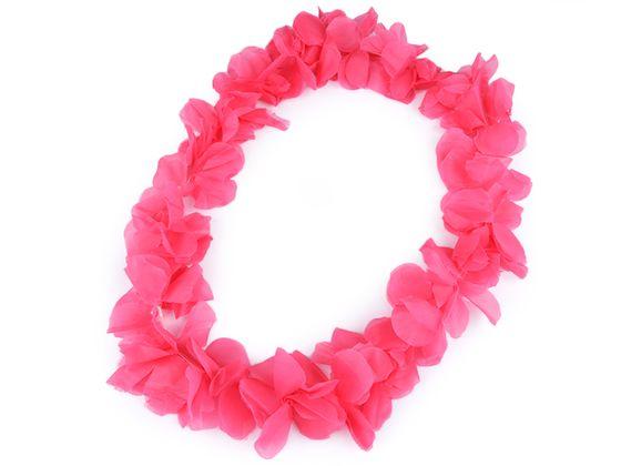 Havajský veniec s kvetmi