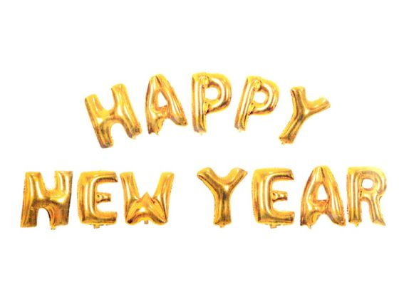 Nafukovacia sada písmen HAPPY NEW YEAR
