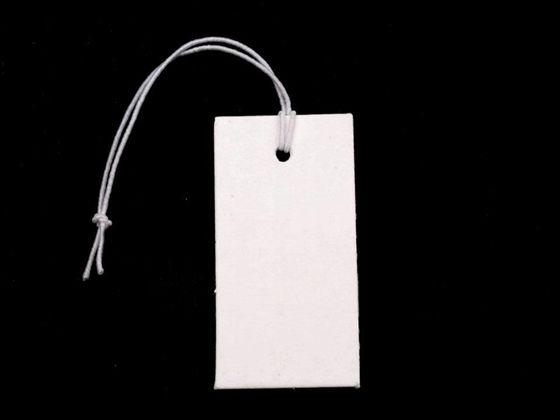 Papierové cenovky 18x36 mm s gumičkou
