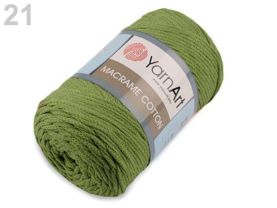 Pletacia priadza Macrame Cotton 250 g