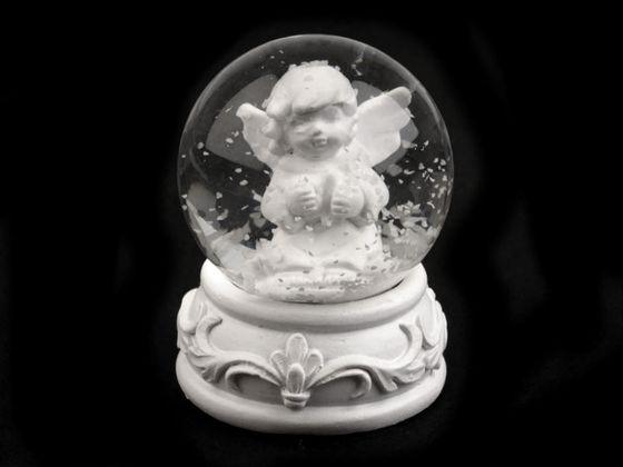 Snežítko s anjelom