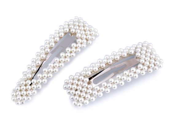Sponka do vlasov pukačka s perlami