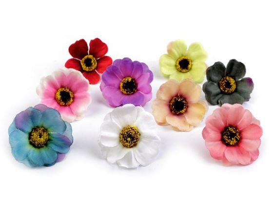 Umelý kvet čajovej ruže  Ø50 mm