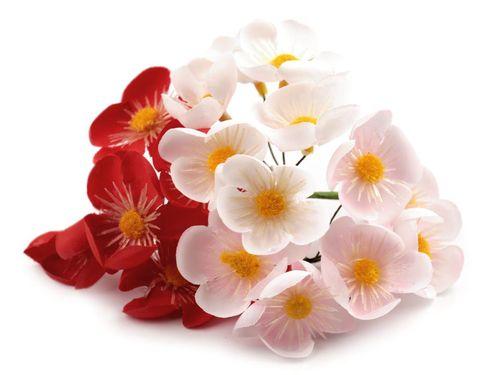 Umelý kvet na drôtiku na aranžovanie